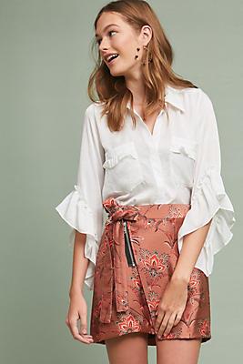 Slide View: 1: Montorgeuil Mini Skirt