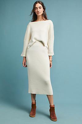 Slide View: 1: Mara Hoffman Structured Skirt