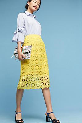 Slide View: 1: Maya Cutout Skirt
