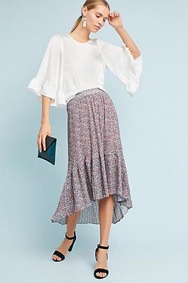 Slide View: 1: Sante Fe Floral Skirt