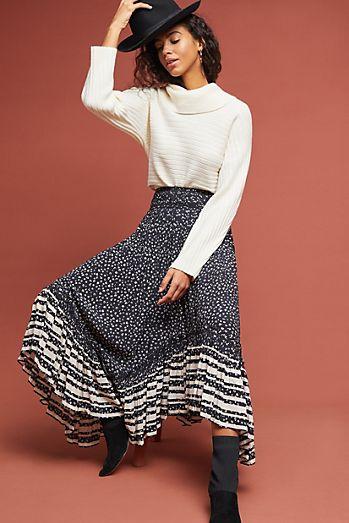 E Midi Skirt