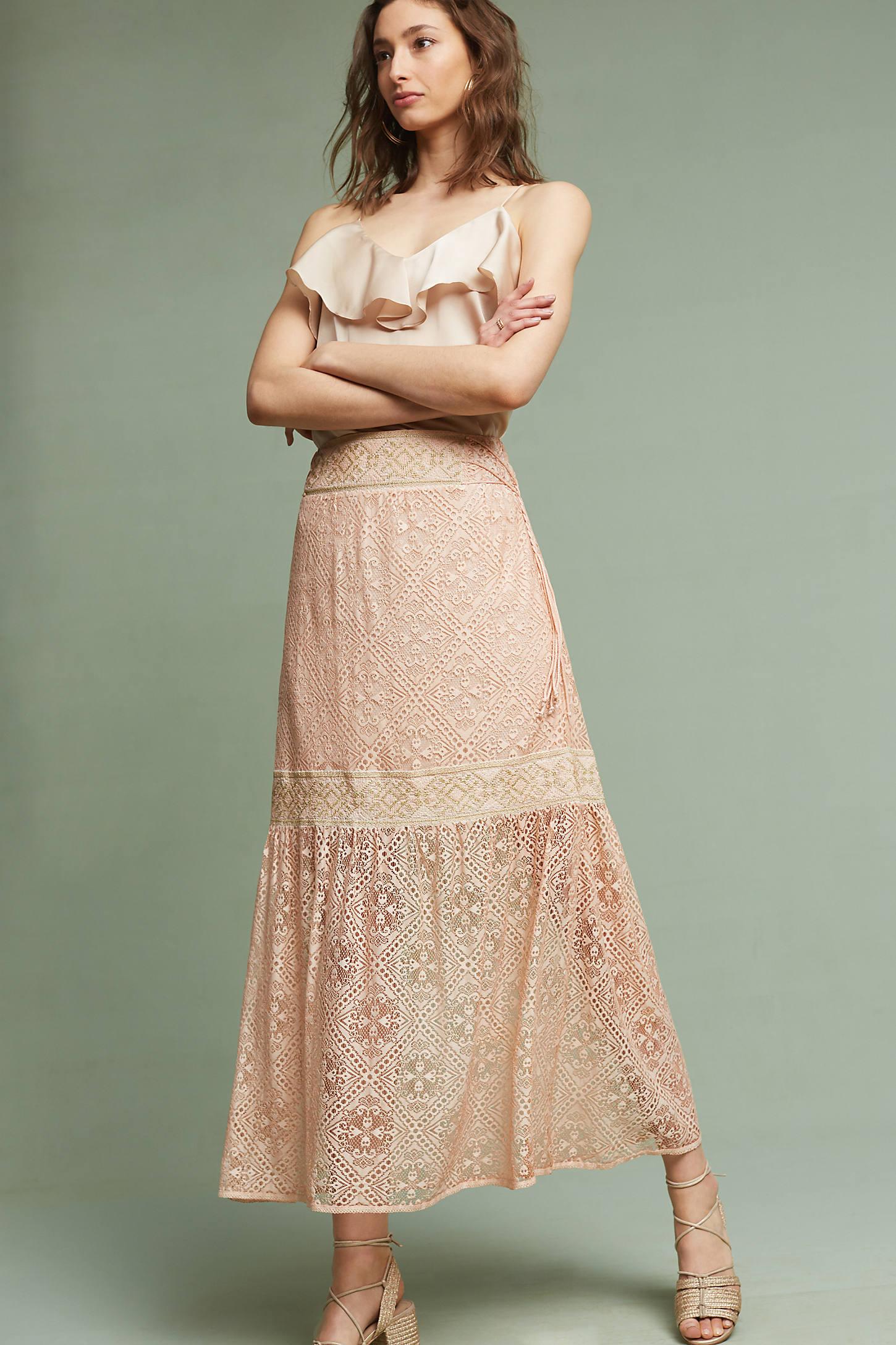 Maxima Lace Skirt