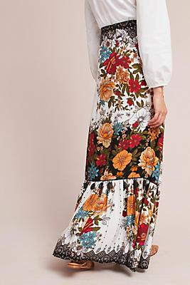 Slide View: 3: Farm Rio Natasha Maxi Skirt