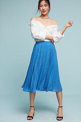 Slide View: 1: Ettie Pleated Skirt