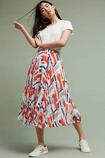 Ralia Pleated Skirt