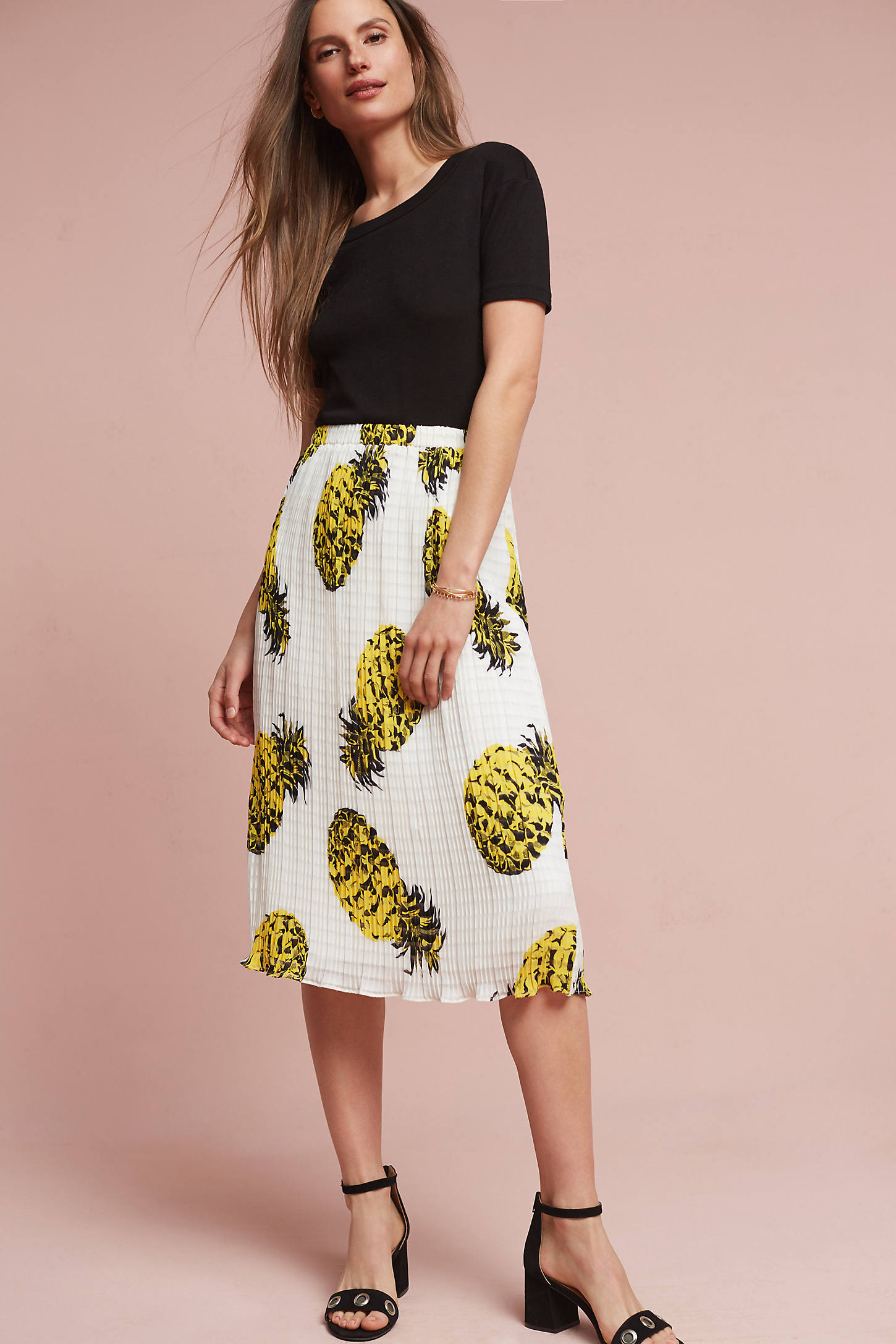 Textured Pineapple Skirt