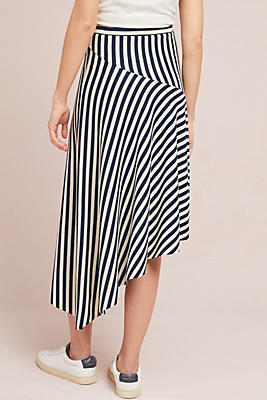 Slide View: 3: Miranda Striped Skirt