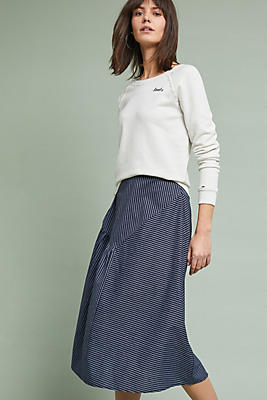 Slide View: 1: Sussex Striped Skirt