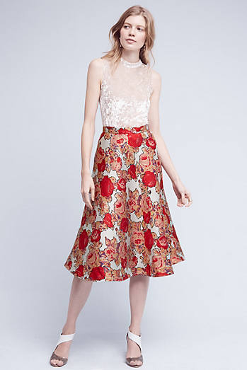 Red Rose Skirt