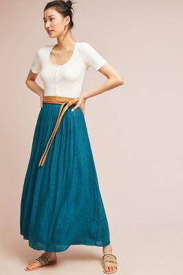 Paros Maxi Skirt by Akemi + Kin
