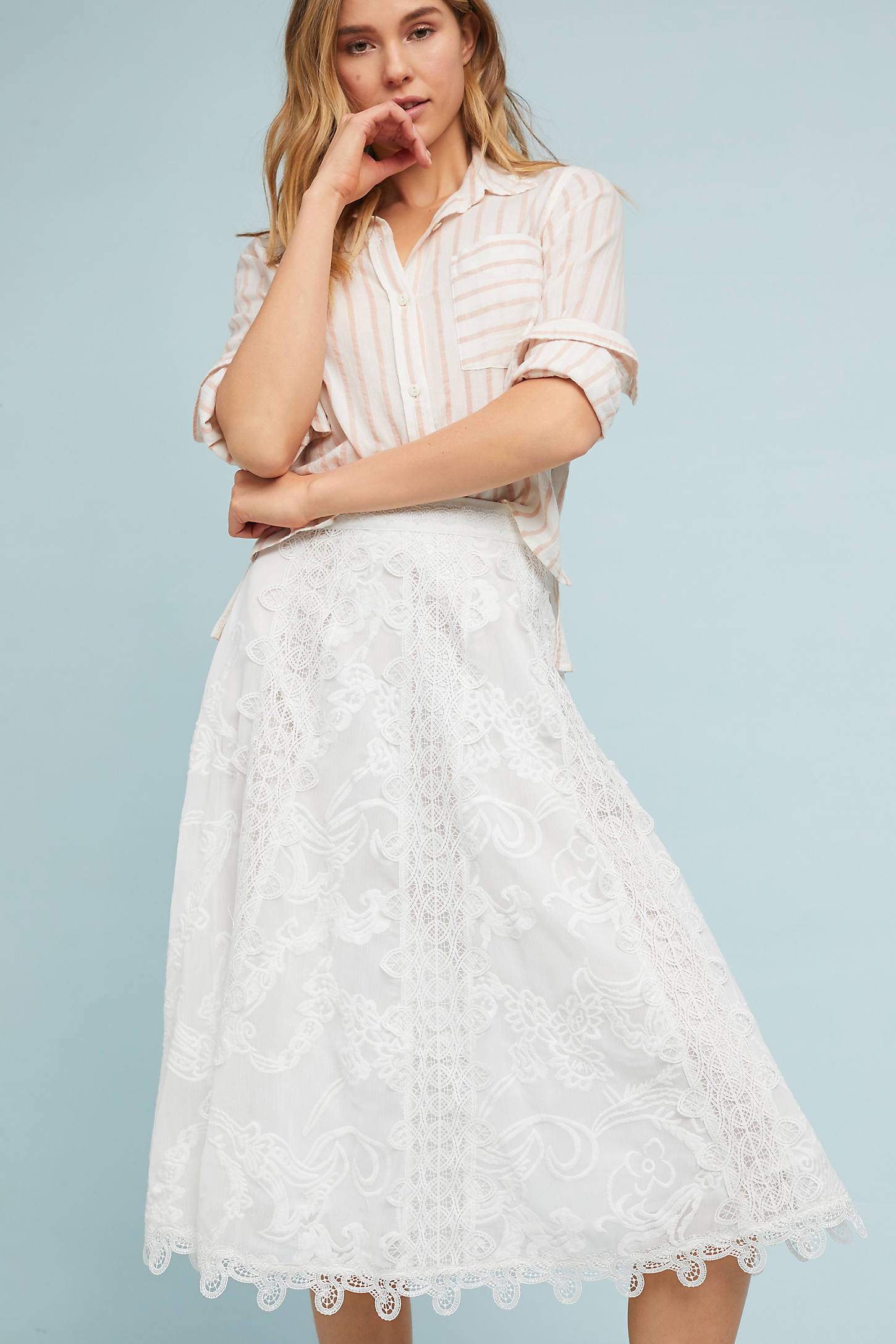 Poet Lace Skirt