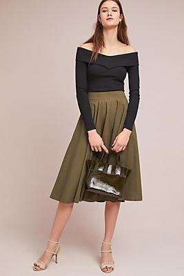 Slide View: 1: Vineyard A-Line Skirt