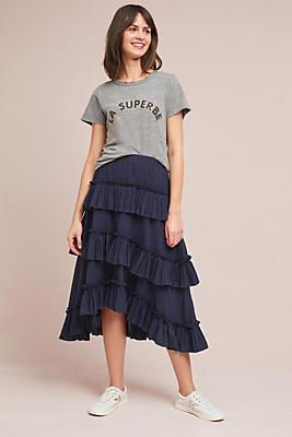 Slide View: 1: Avisa Ruffled Skirt