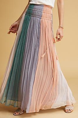 Slide View: 1: Cleo Pastel Skirt