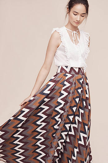 Earth Tones Maxi Skirt