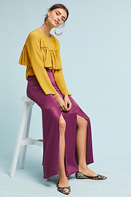 Slide View: 1: Sidone Maxi Skirt
