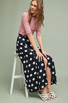 Slide View: 1: Claudette Maxi Skirt