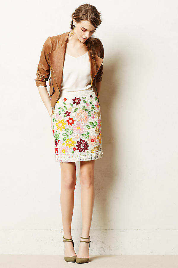 Ayaka Embroidered Skirt