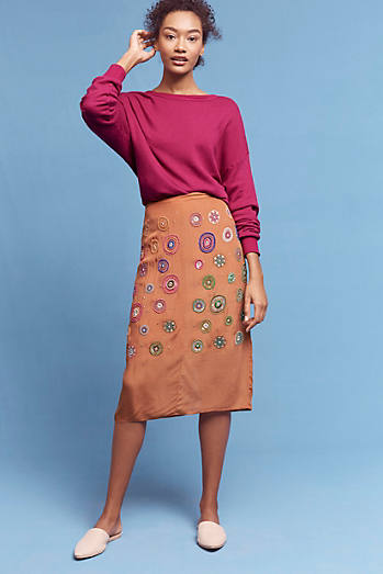 Arancia Applique Skirt