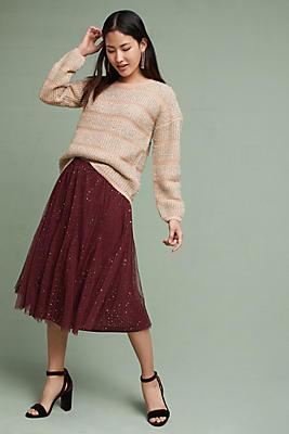 Slide View: 4: Everly Tulle Skirt