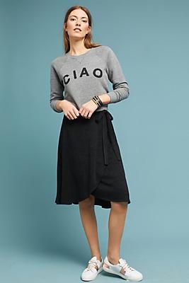 Slide View: 1: Didi Wrap Skirt