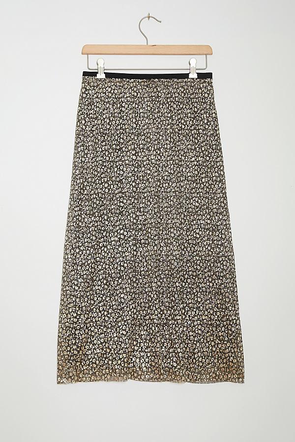 Anina Shimmer Midi Skirt