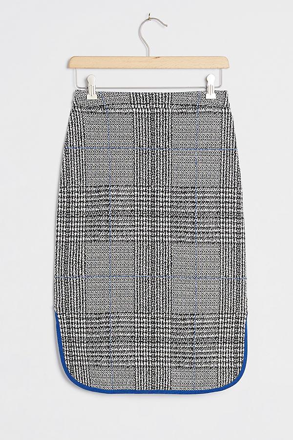 Maeve Plaid Midi Skirt