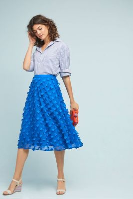 Alice Textured Skirt by Maeve