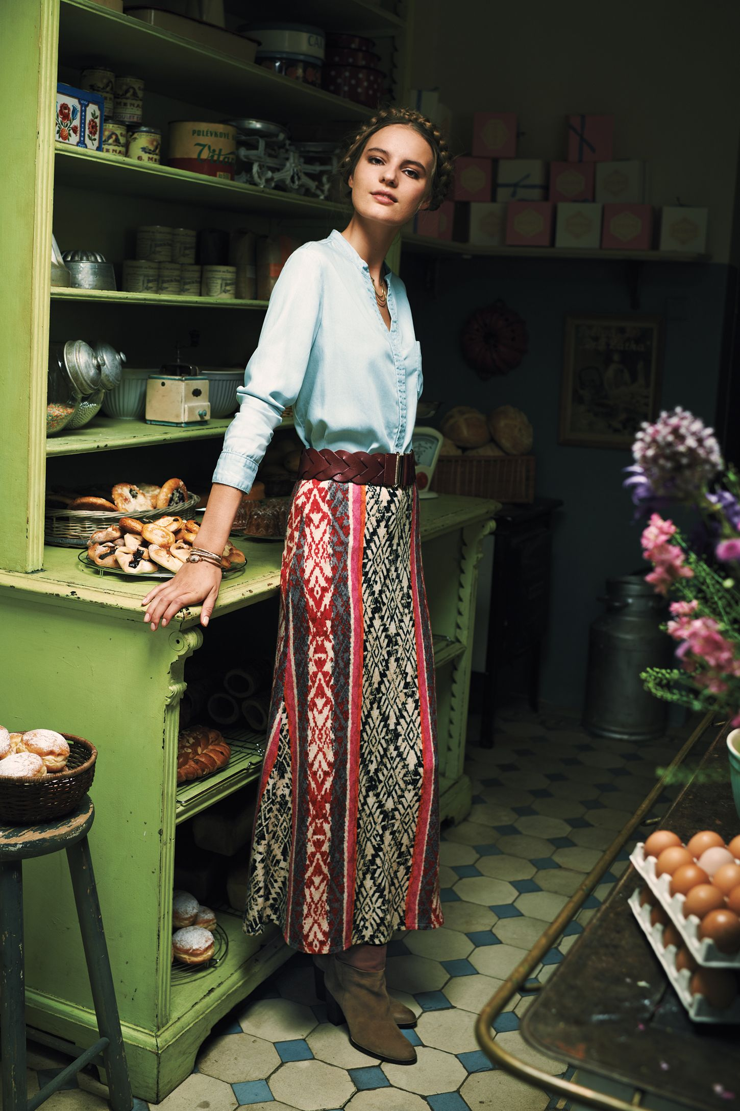 Fairisle Sweater Skirt | Anthropologie