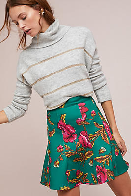 Hibiscus Skater Skirt by Maeve