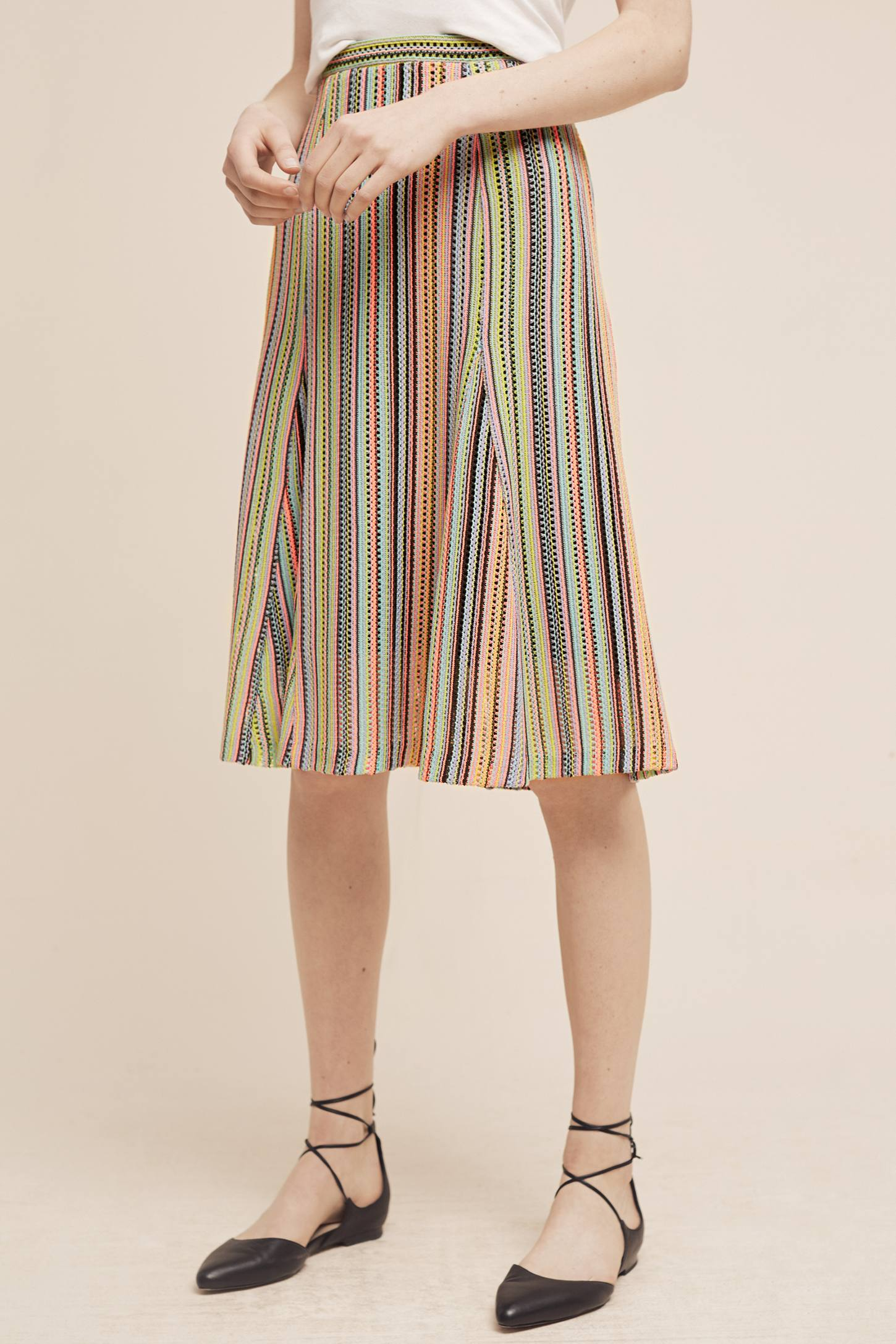 Slide View: 2: Spectral Stripe Skirt