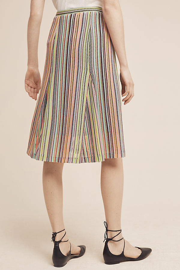 Slide View: 4: Spectral Stripe Skirt