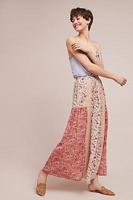 Slide View: 2: Sun-Kissed Floral Skirt