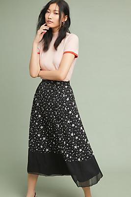 Slide View: 1: Celestial Midi Skirt