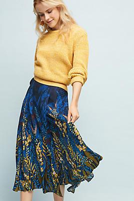 Slide View: 1: Midnight Garden Skirt