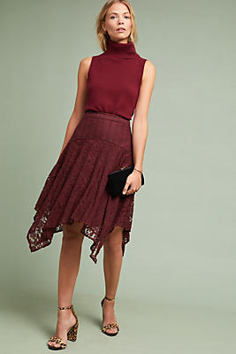 Slide View: 1: Susie Lace Skirt