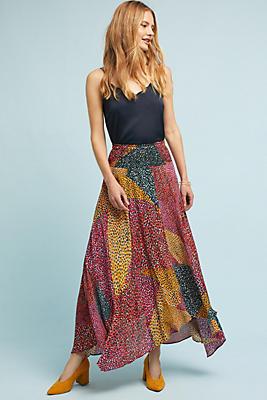 Slide View: 1: Valora Printed Skirt