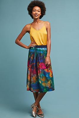 Slide View: 1: Watercolor Skirt