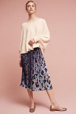 Slide View: 2: Nina Floral Midi Skirt