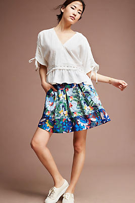 Slide View: 2: Alyndra Printed Skirt