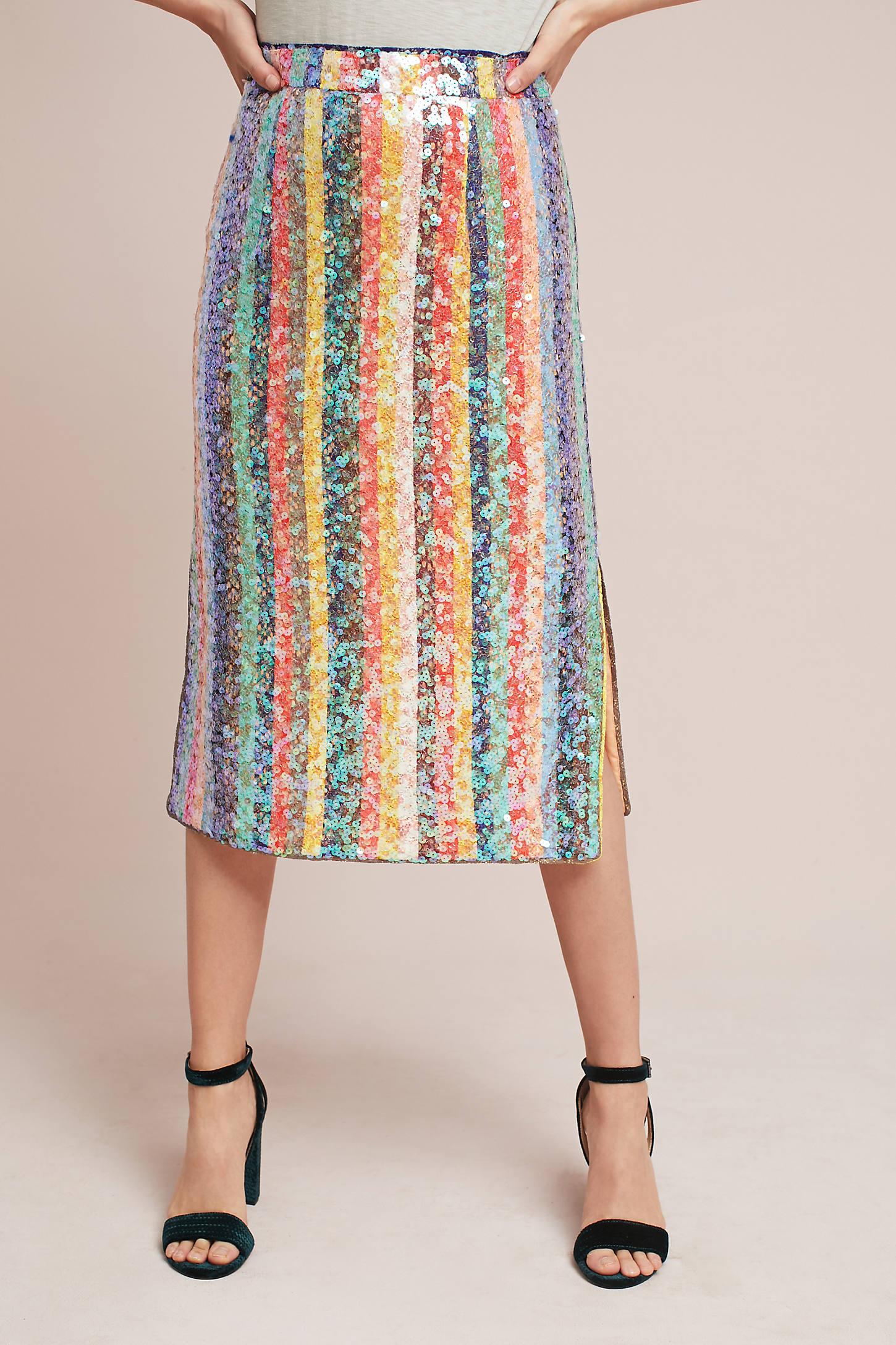 Sequined Palette Skirt