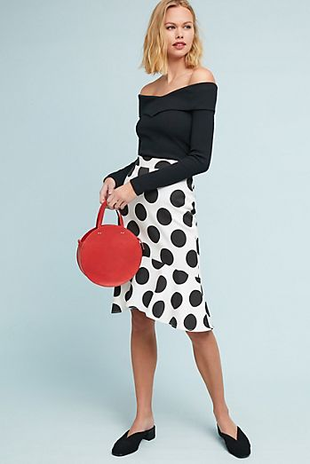 Retro Flounced Skirt