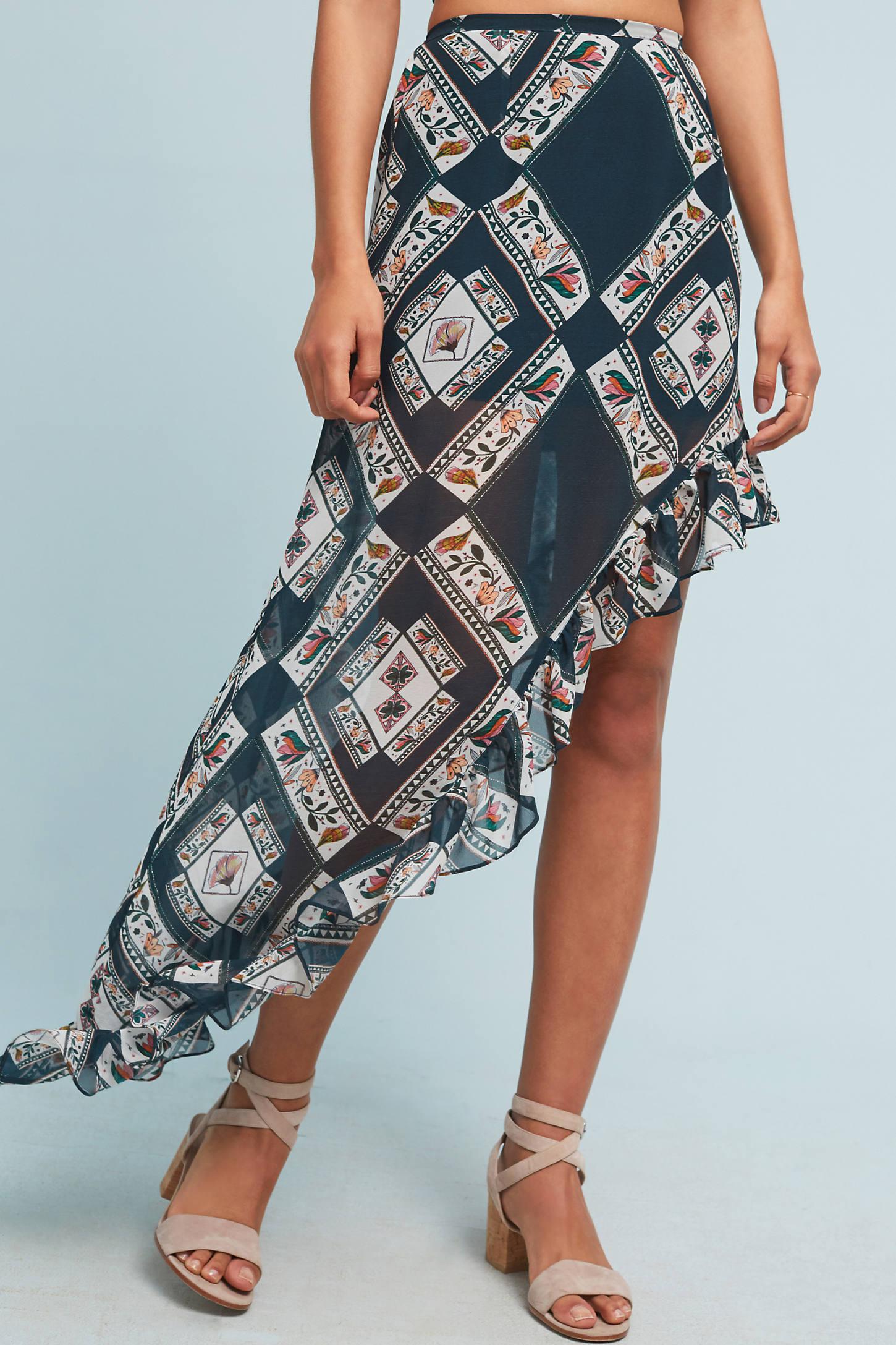 Copenhagen Silk Skirt