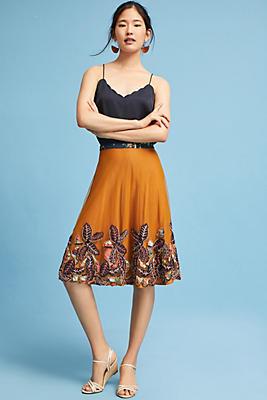 Slide View: 1: Sita Tulle Skirt