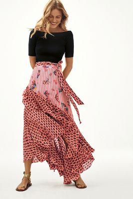 a91d037fe2 Florence Bias Midi Skirt | Anthropologie