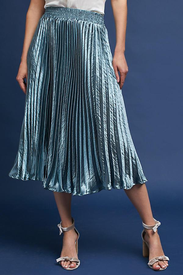 Slide View: 2: Gemma Pleated Skirt