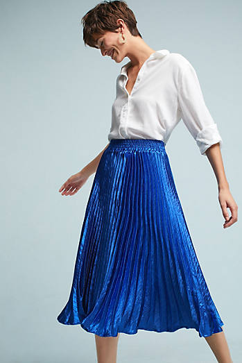 Gemma Pleated Skirt