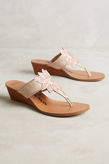 Verbena Wedge Sandals