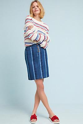 Slide View: 1: Blue Hill Pencil Skirt