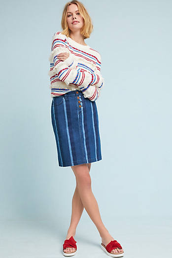 Blue Hill Pencil Skirt